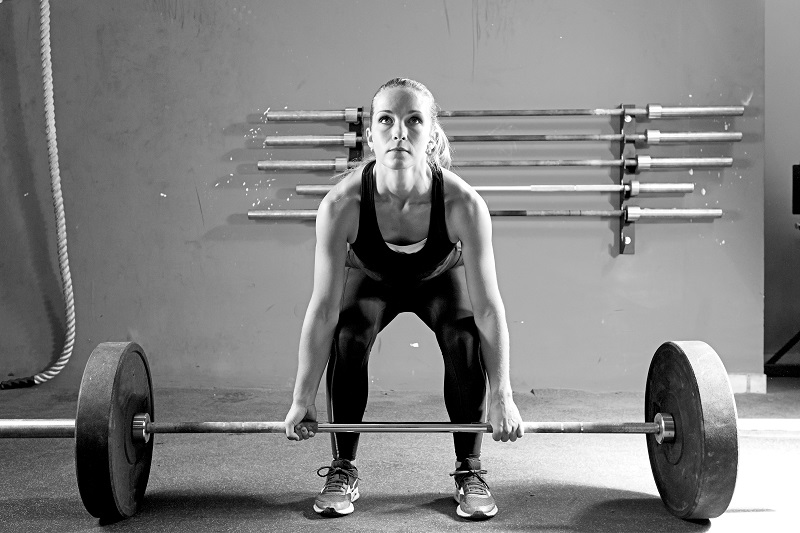 weightlifting session